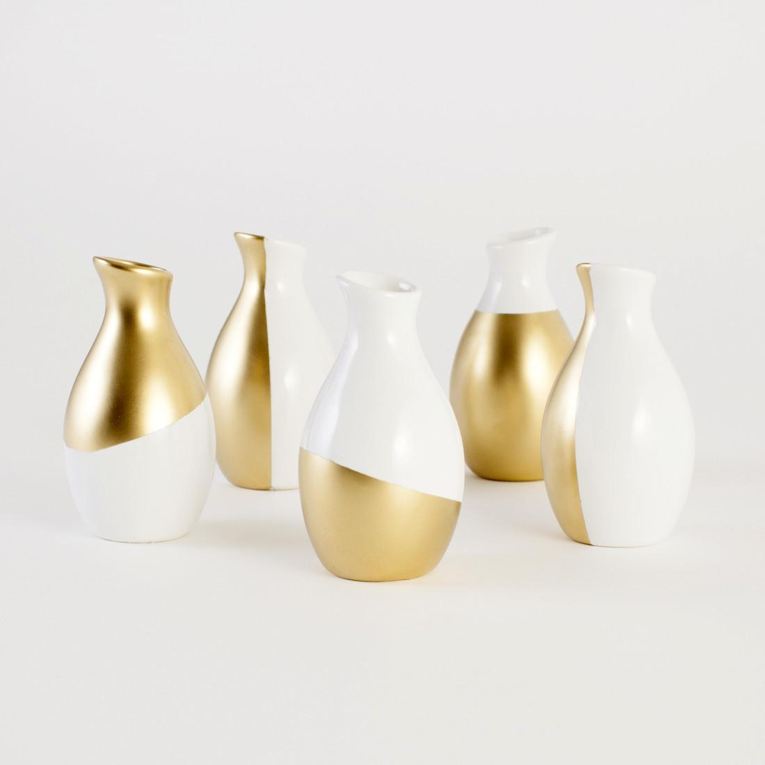 Gold Dipped Vases Kit Brit Shop Creative