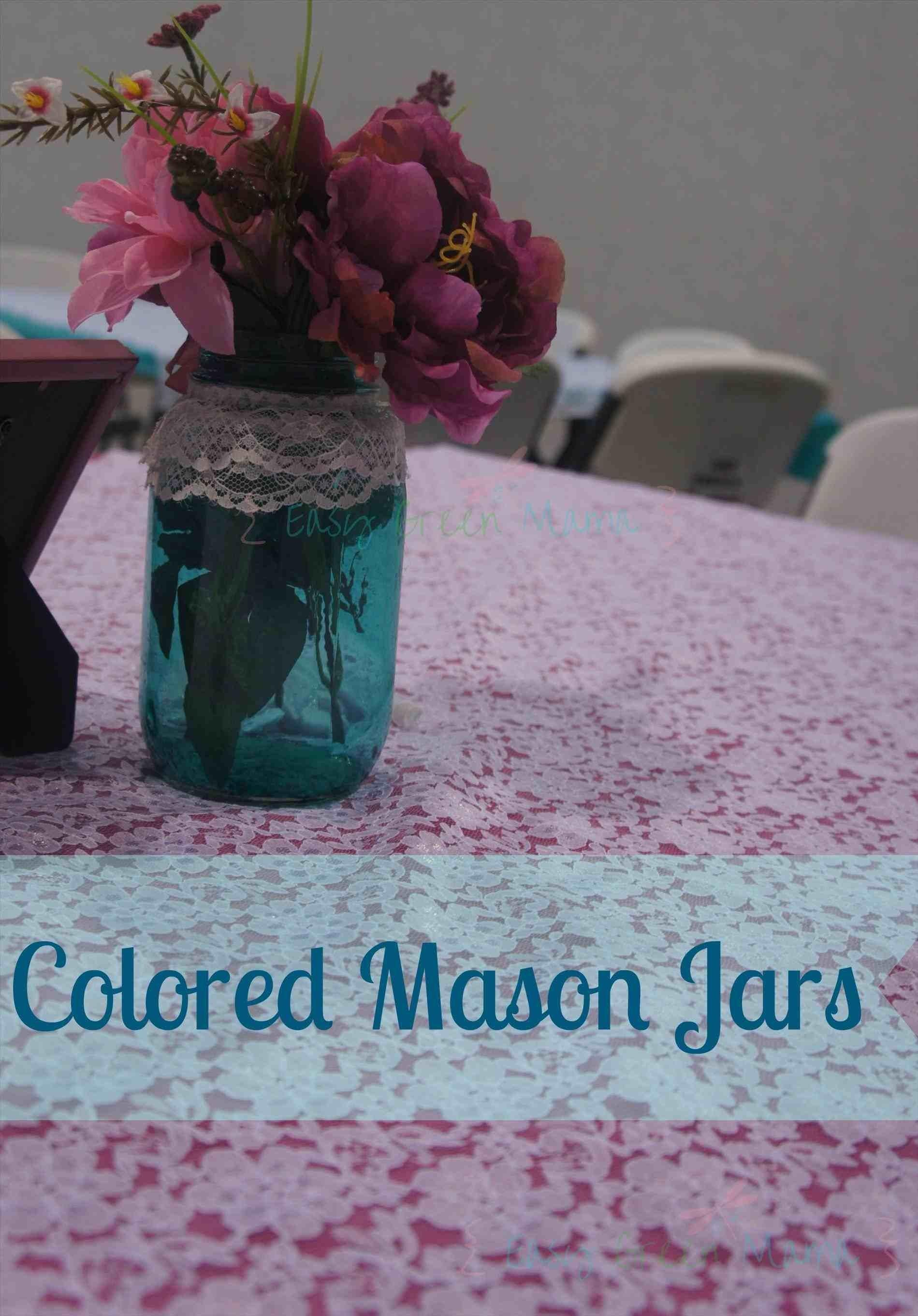 Gold Diy Wedding Centerpieces Mason Jars Glitter