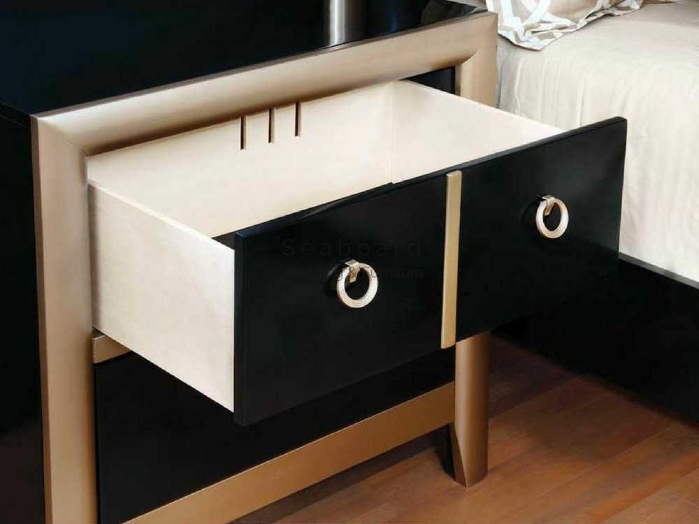 Gold Nightstand Home Styles Visions 2drawer Silver