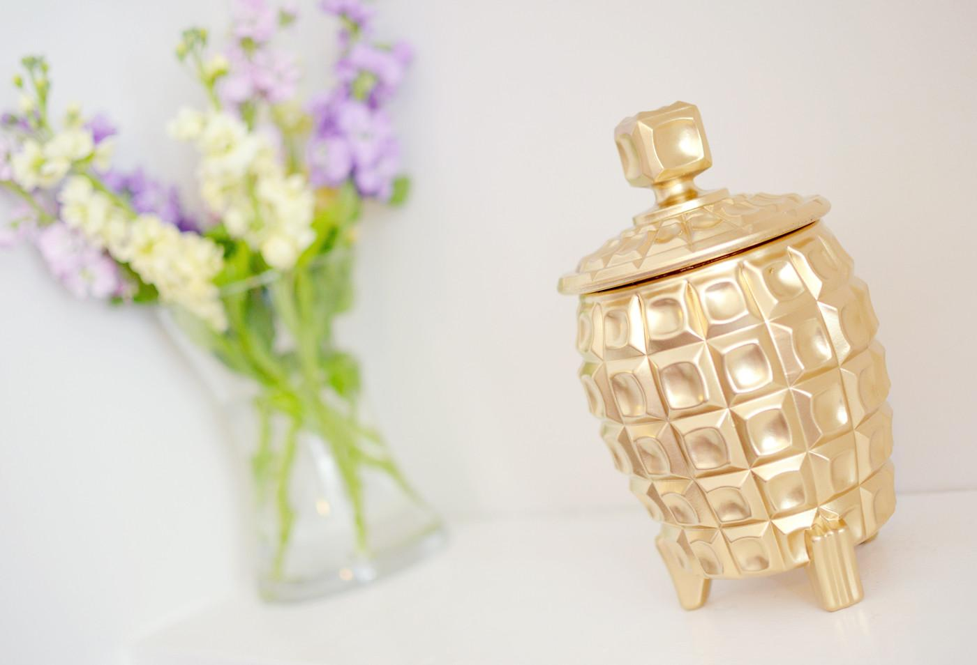 Gold Pineapple Ice Bucket Diy Post Bang Style
