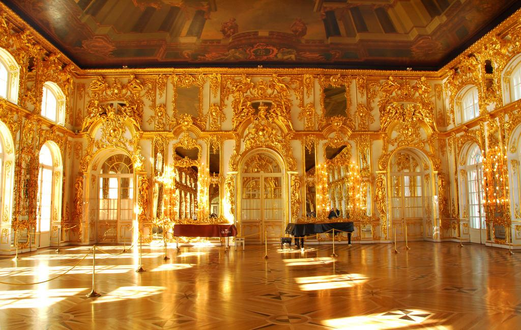 Gold Room Catherine Great Summer Palace