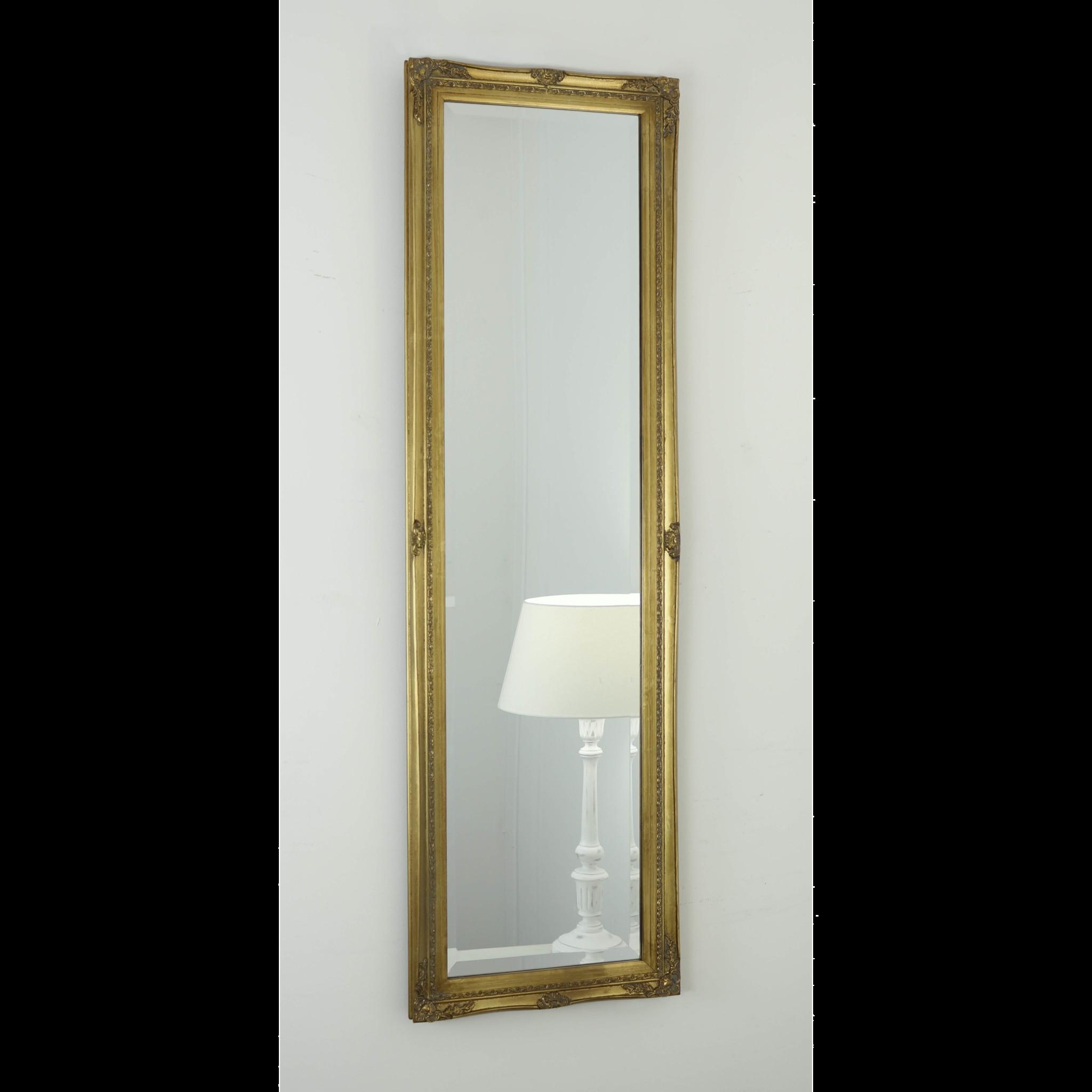 Gold Shabby Chic Rectangular Mirror Cannes