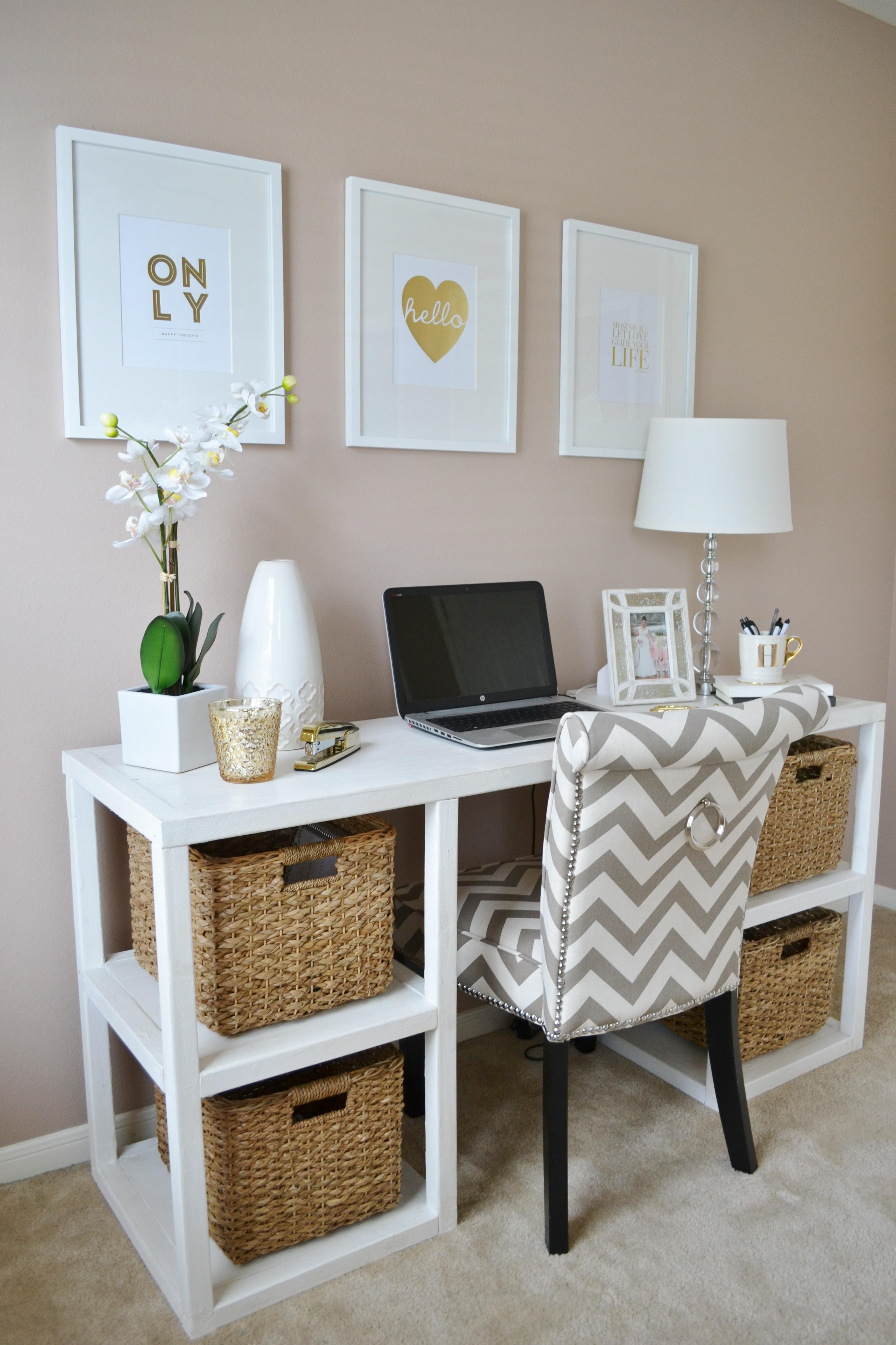 Gold White Office Lots Lovely