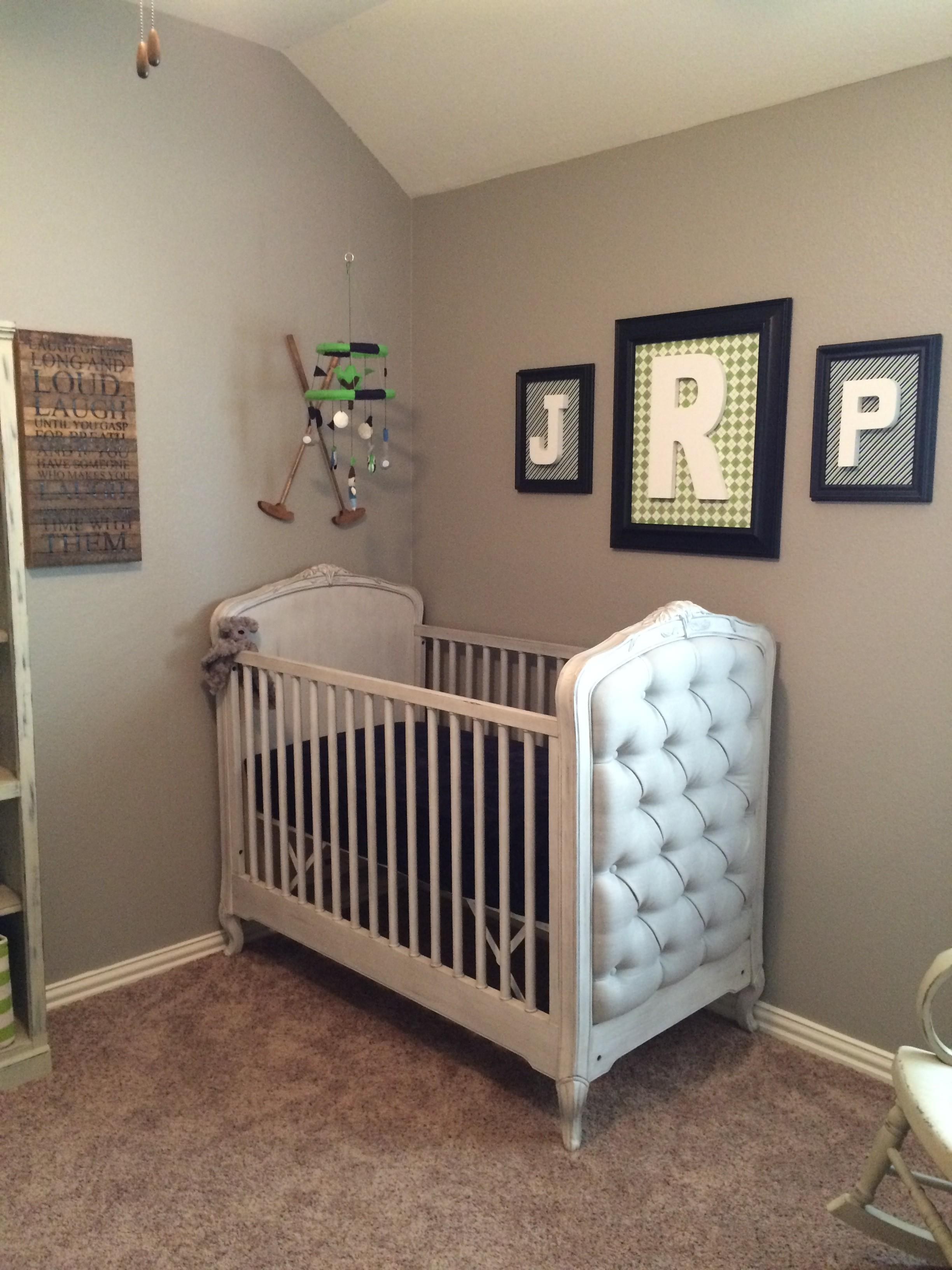 Golf Theme Nursery Project