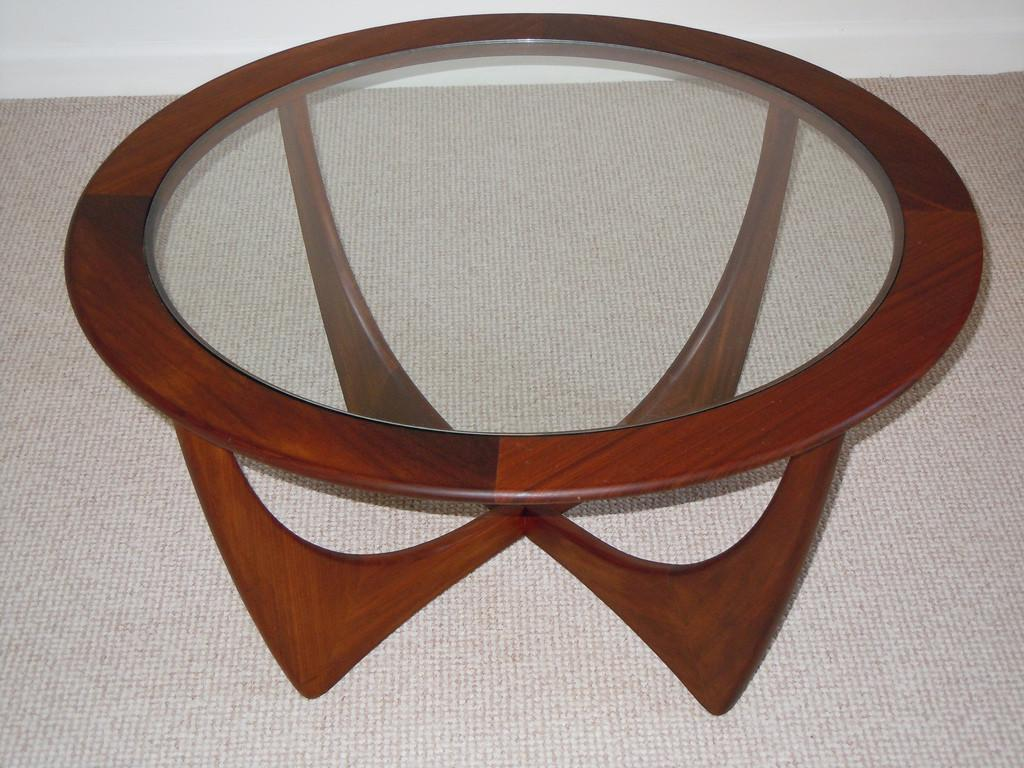 Gomme Astro Teak Coffee Table 1960 Iconic Retro