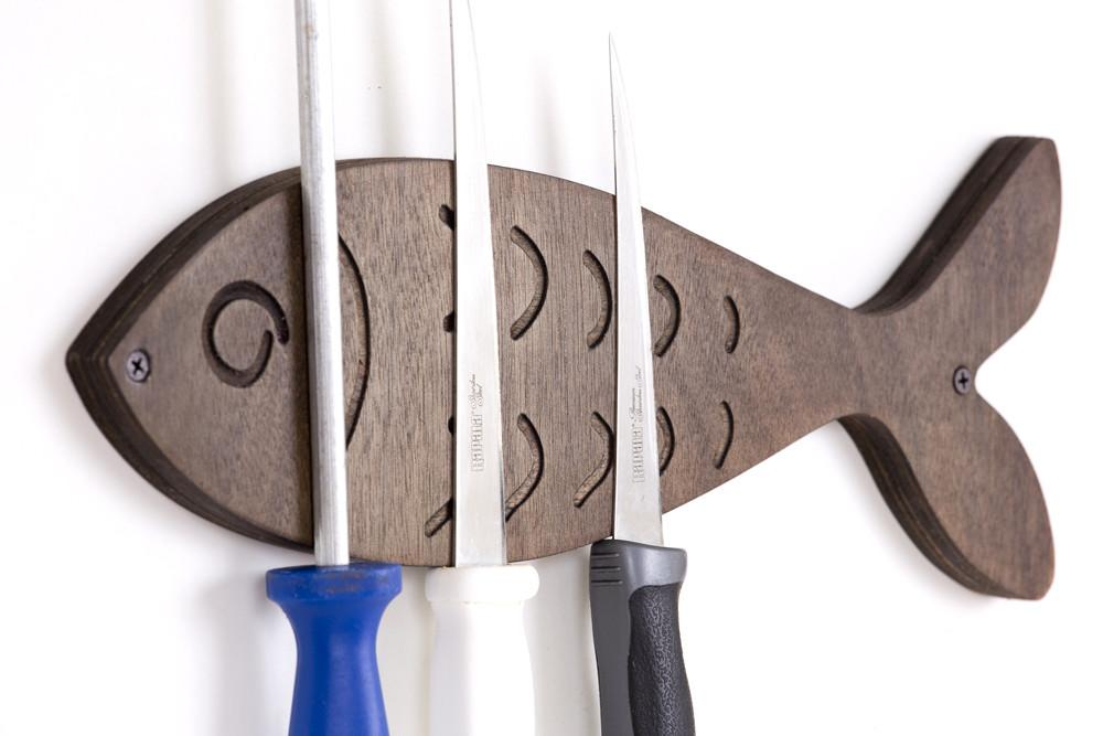 Gone Fishing Magnetic Knife Holder Buy Designed