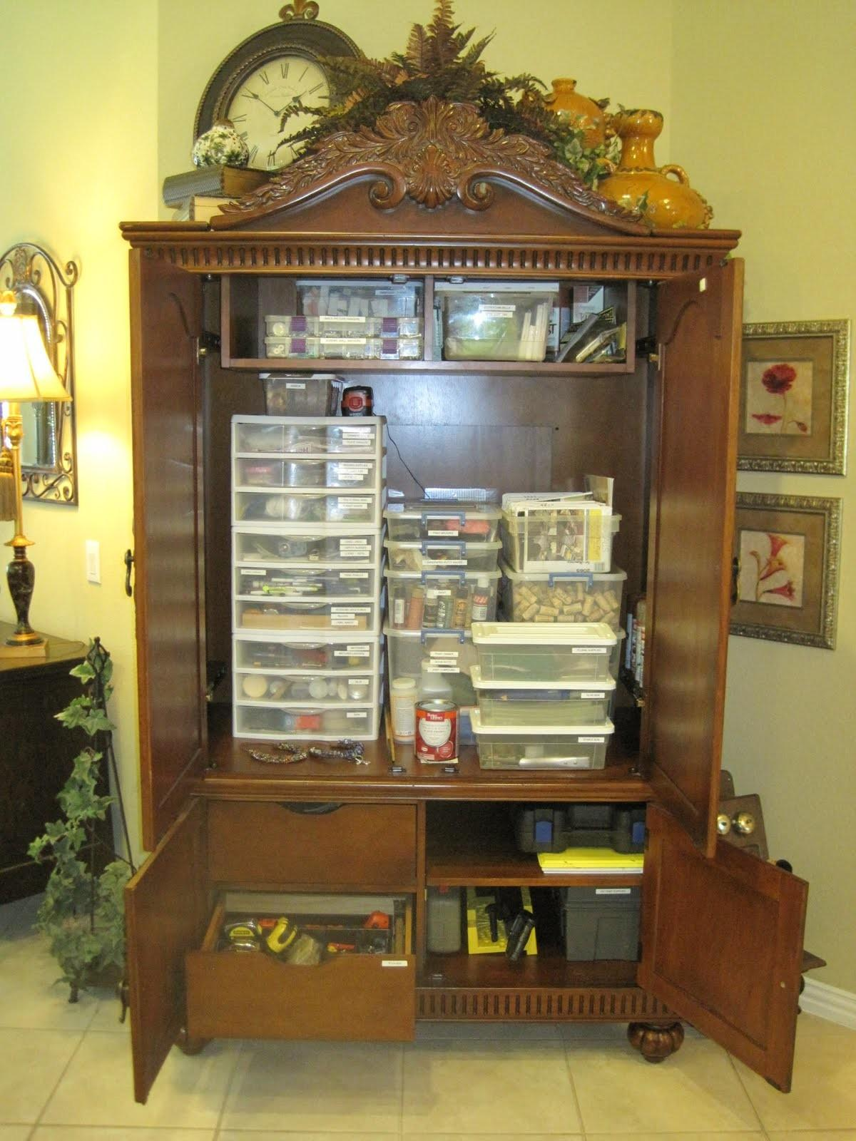 Gone Thrifting Upcycled Entertainment Centers Armoires