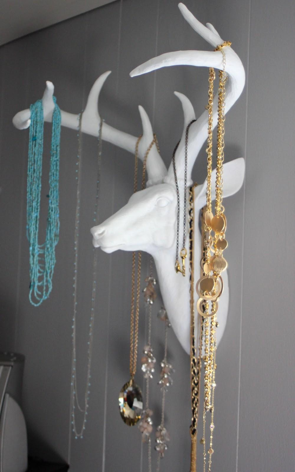 Good Clean Fun Project Antlers Jewlery Holder