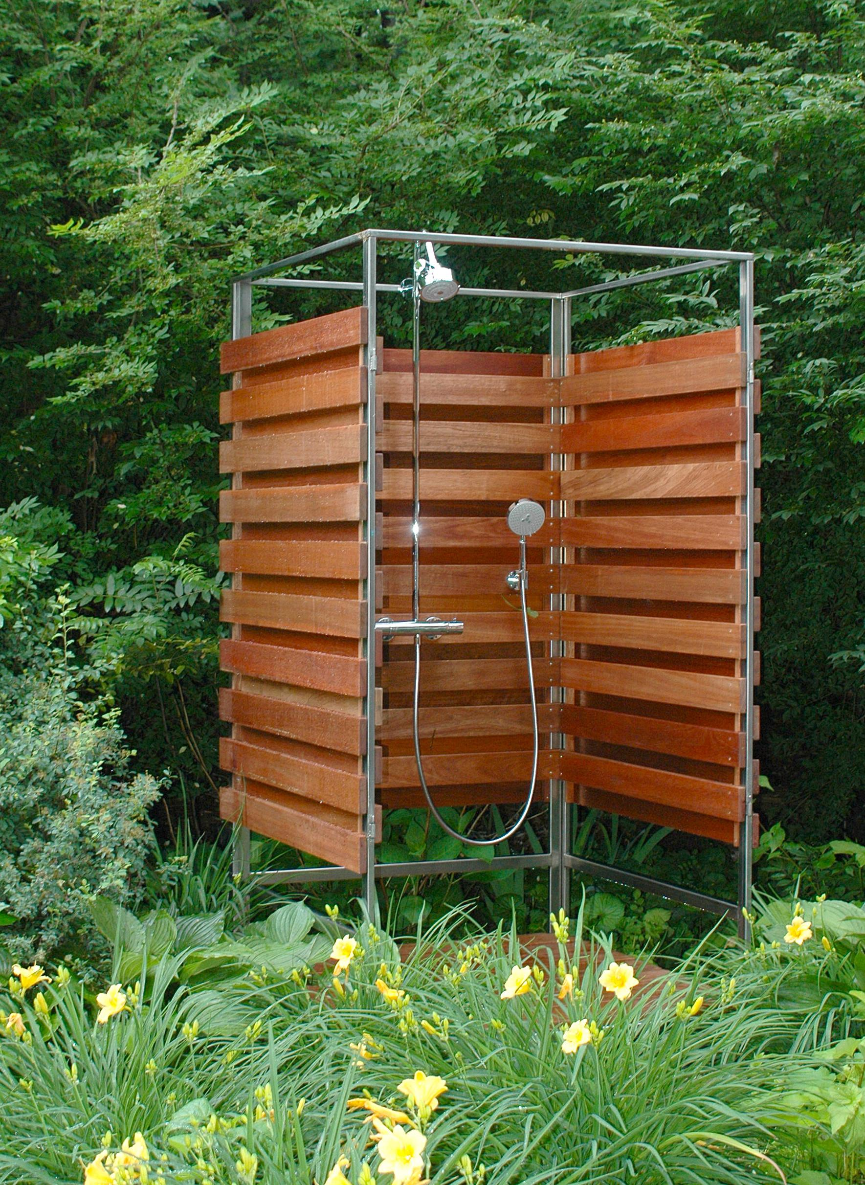 Good Reasons Runners Build Outdoor Shower