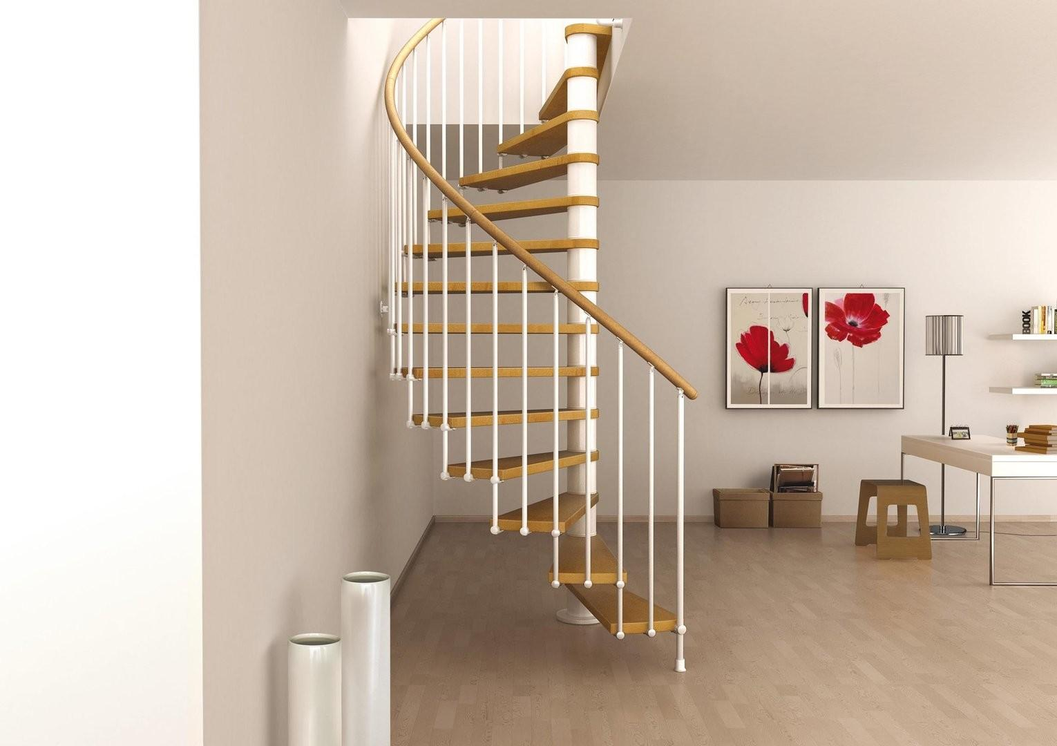 Good Space Saving Stair Design Home Interior Decor
