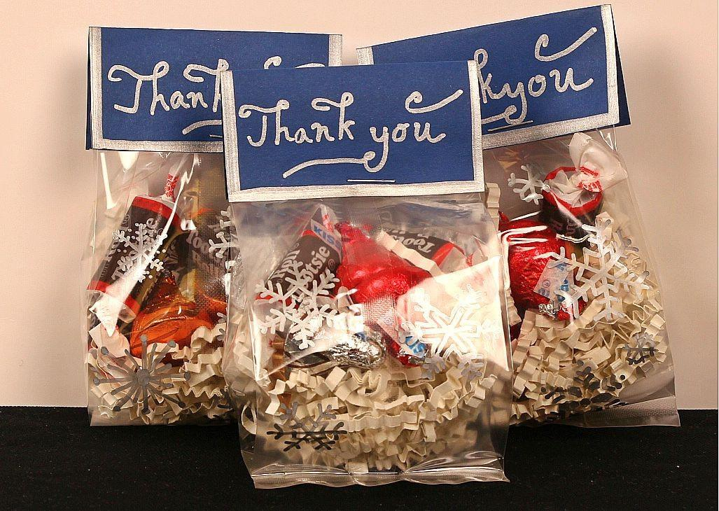 Goodie Bags Idea Winter Snowflakes Candy Jam Blog