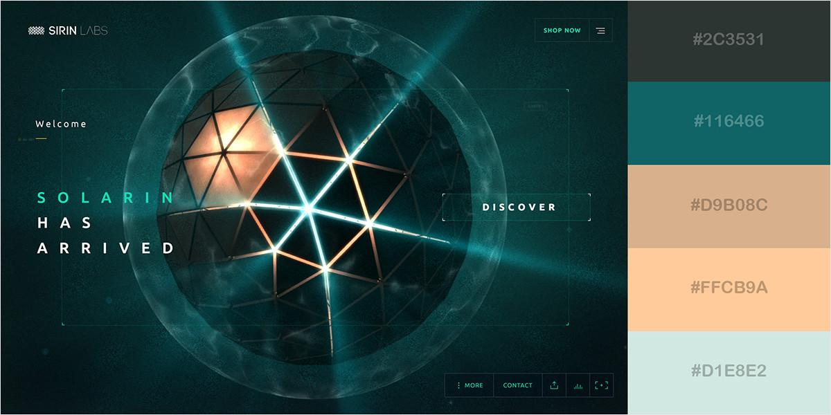 Gorgeous Color Schemes Stunning Websites Visual