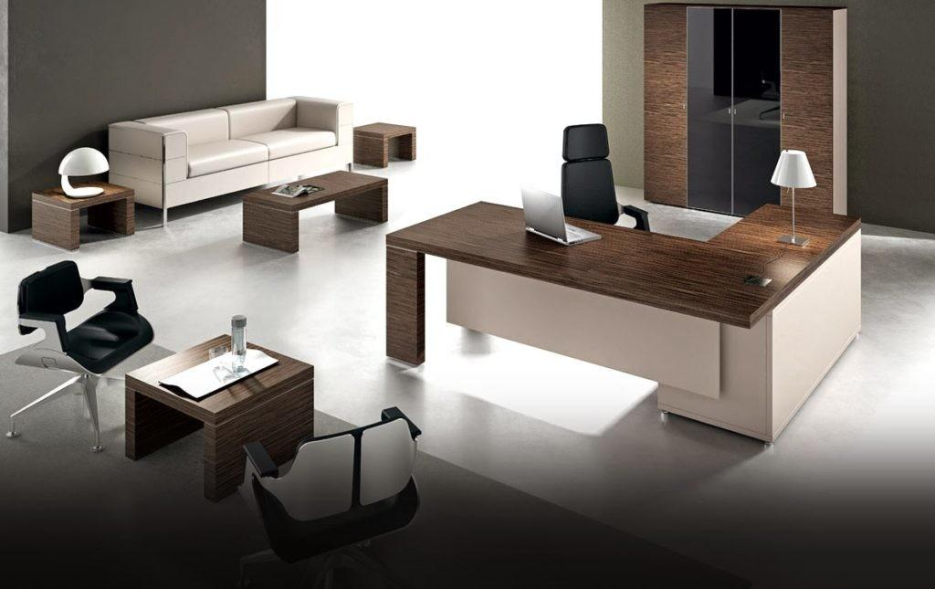 Gorgeous Contemporary Home Office Furniture Ideas