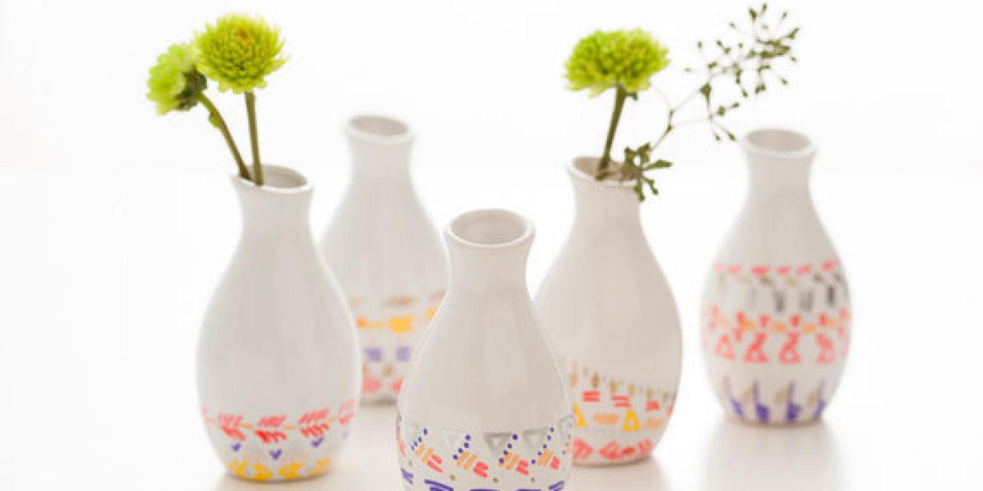 Gorgeous Diy Vases Can Actually Make Huffpost