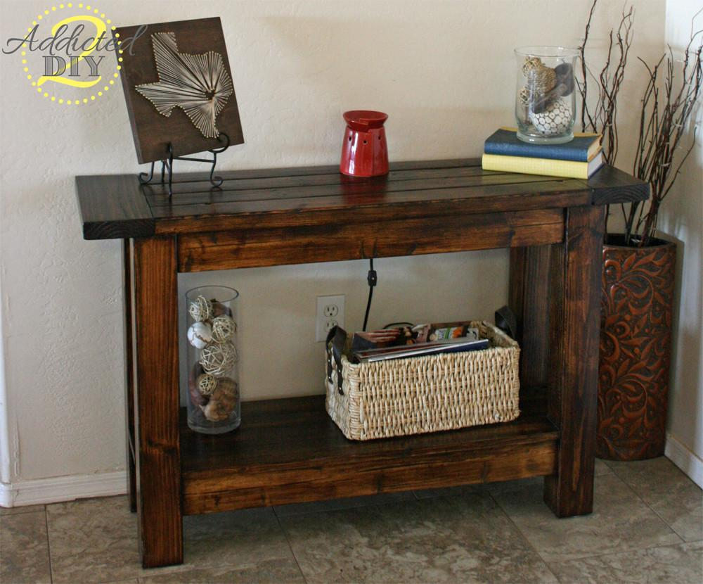 Gorgeous Entryway Tables Can Make Budget