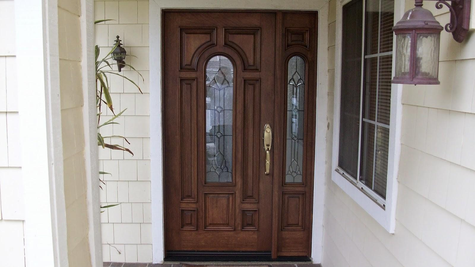 Gorgeous Exterior Front Doors Sidelights