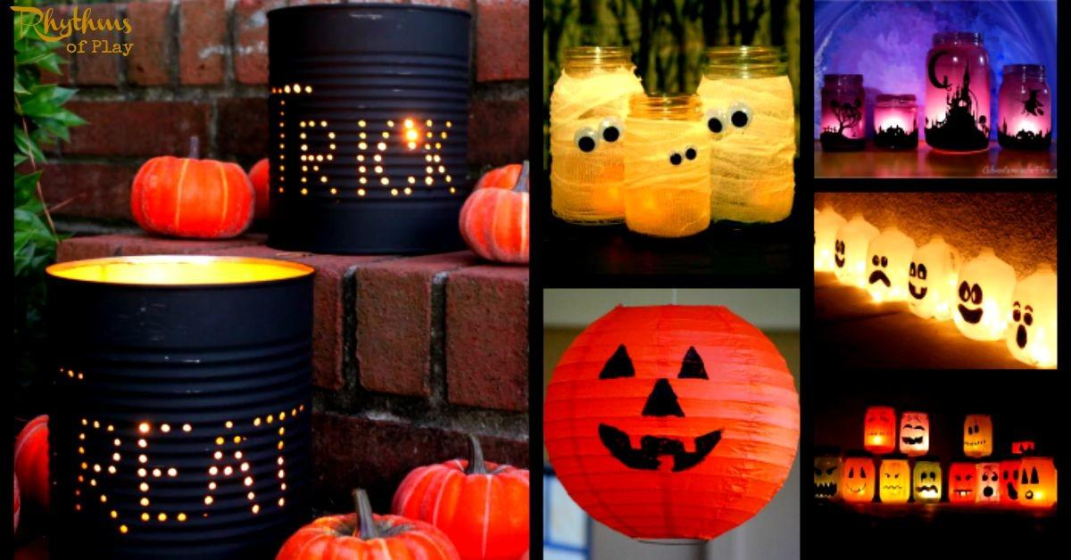 Gorgeous Glowing Diy Halloween Lanterns Rhythms Play