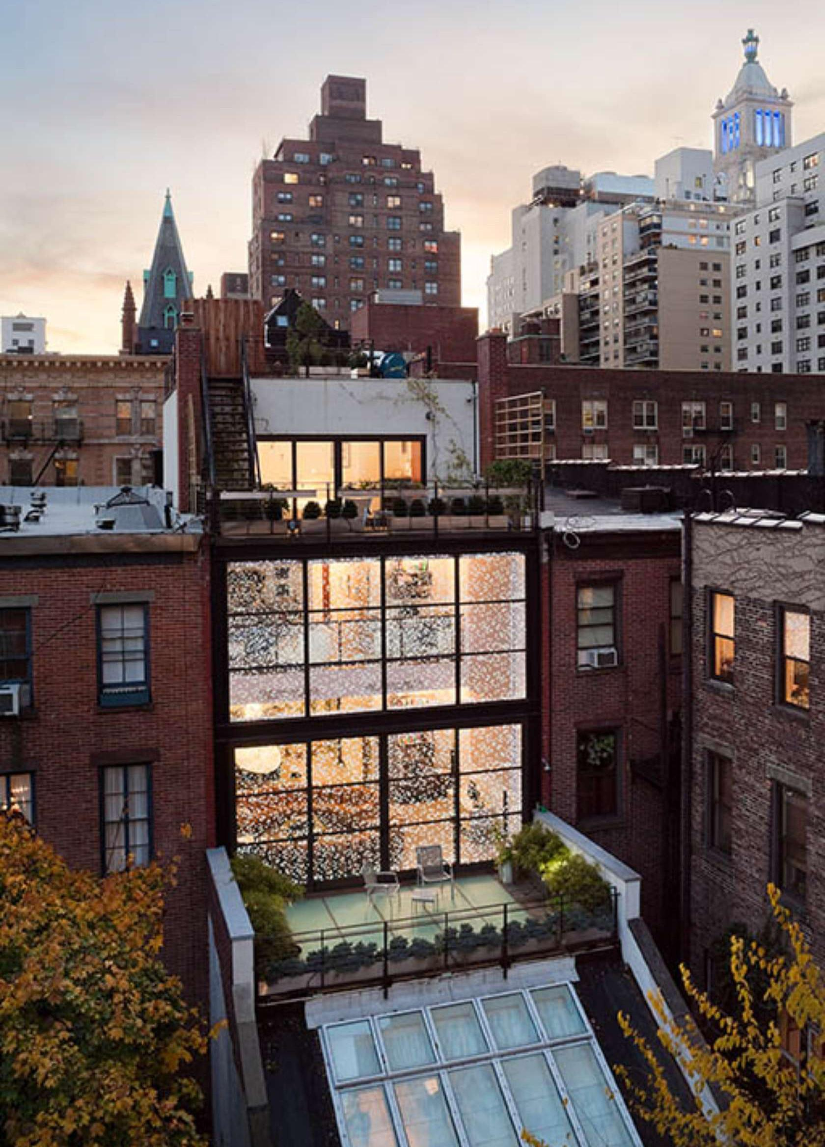 Gorgeous Gramercy Park Townhouse Fuses History Modern
