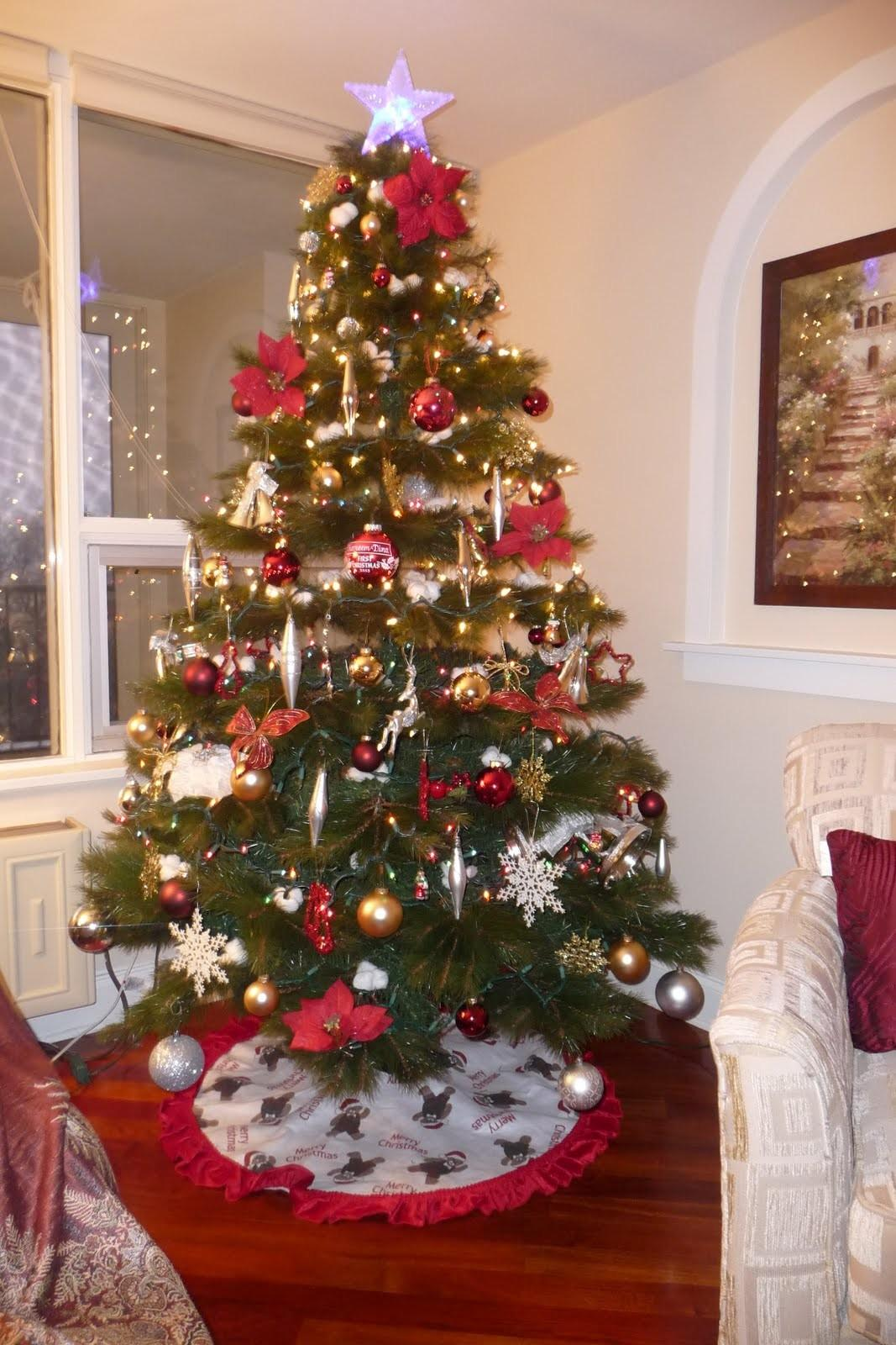 Gorgeous Home Christmas Living Room Decoration Contain