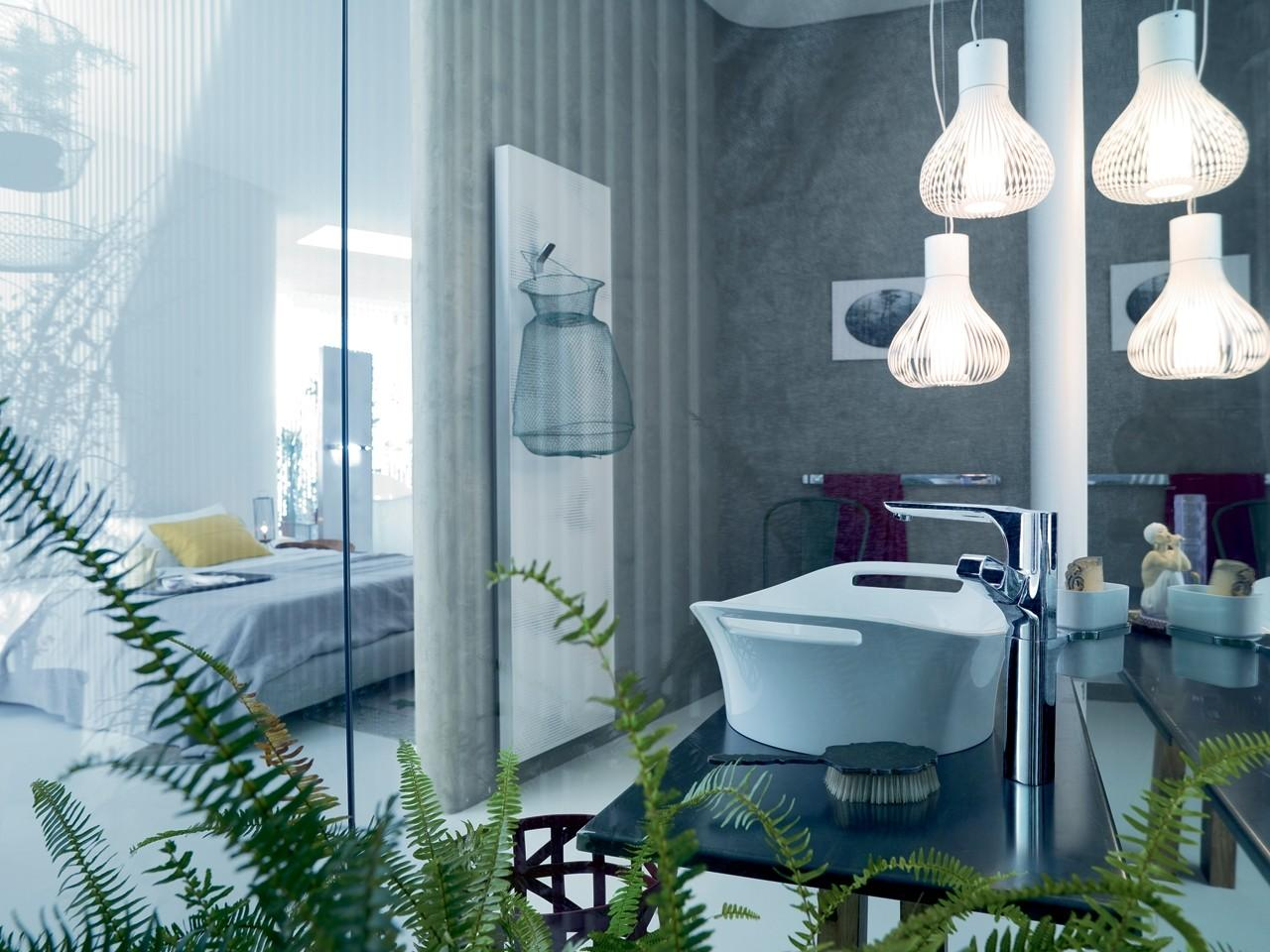 Gorgeous Indoor Plants Bathroom Decorating