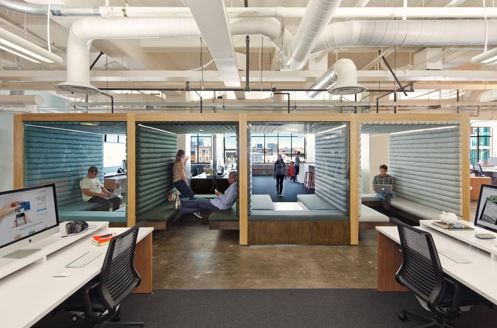 Gorgeous Industrial Office Design Decorating