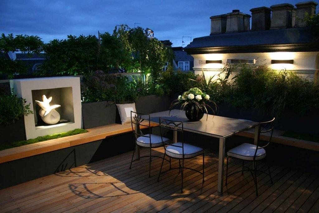 Gorgeous Modern Roof Garden Design