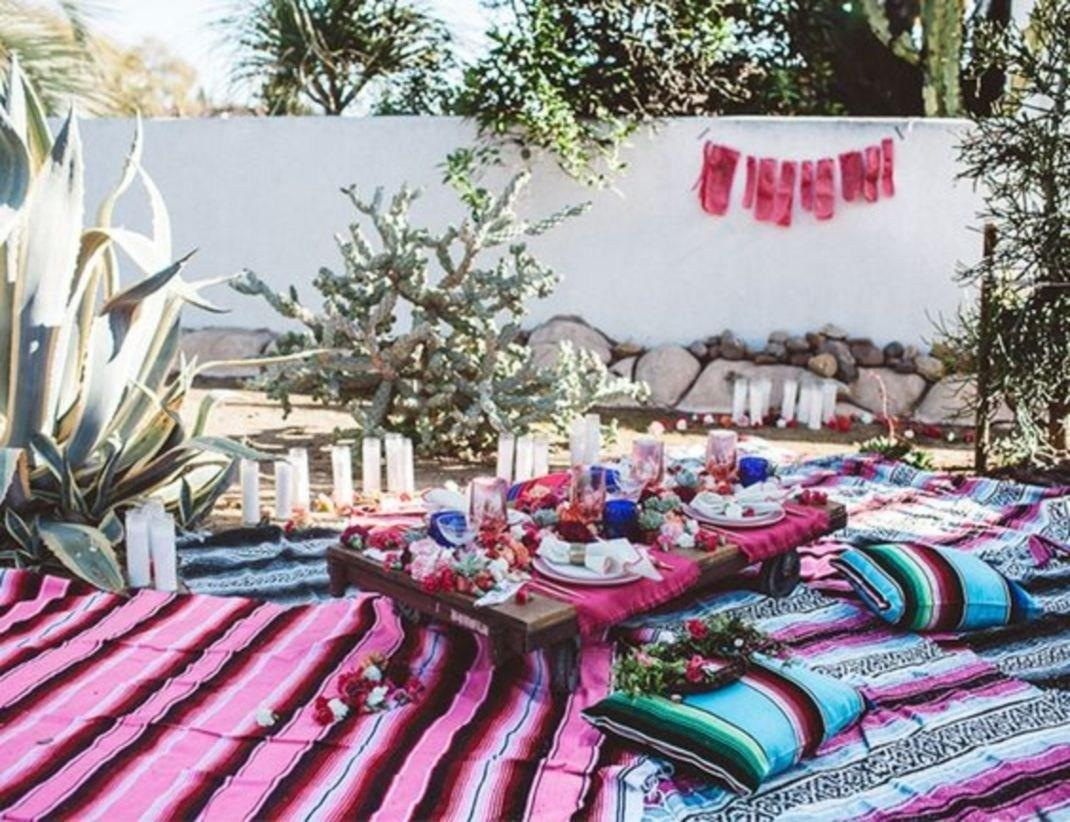 Gorgeous Moroccan Bohemian Party Decor Ideas