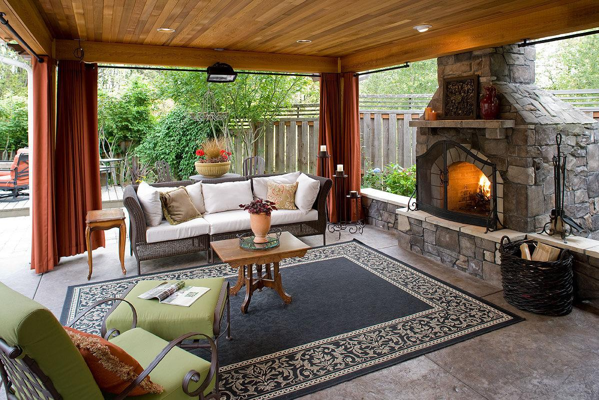 Gorgeous Outdoor Rooms Enhance Your Backyard