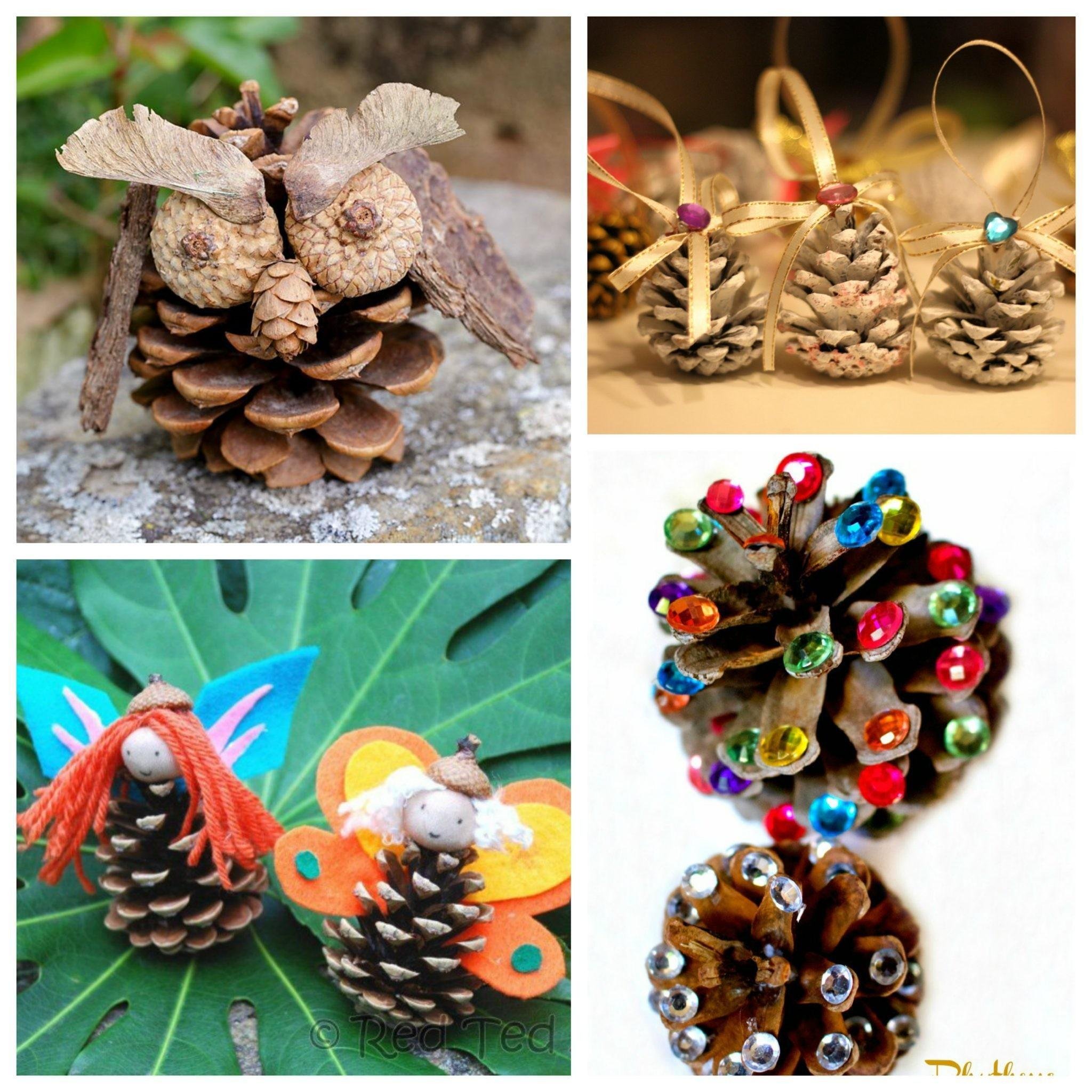 Gorgeous Pine Cone Crafts Pinterested Parent