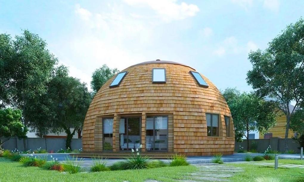 Gorgeous Russian Dome Home Future Withstands
