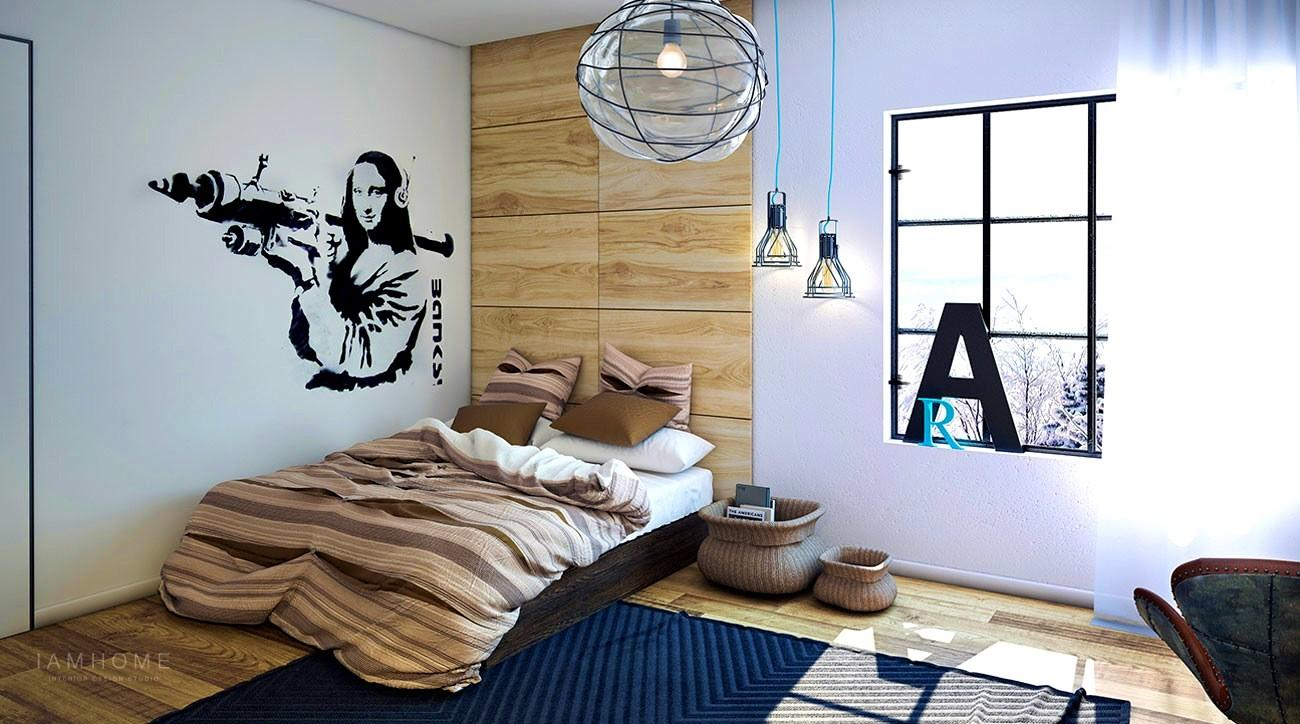 Gorgeous Style Industrial Bedroom Furniture Design Ideas