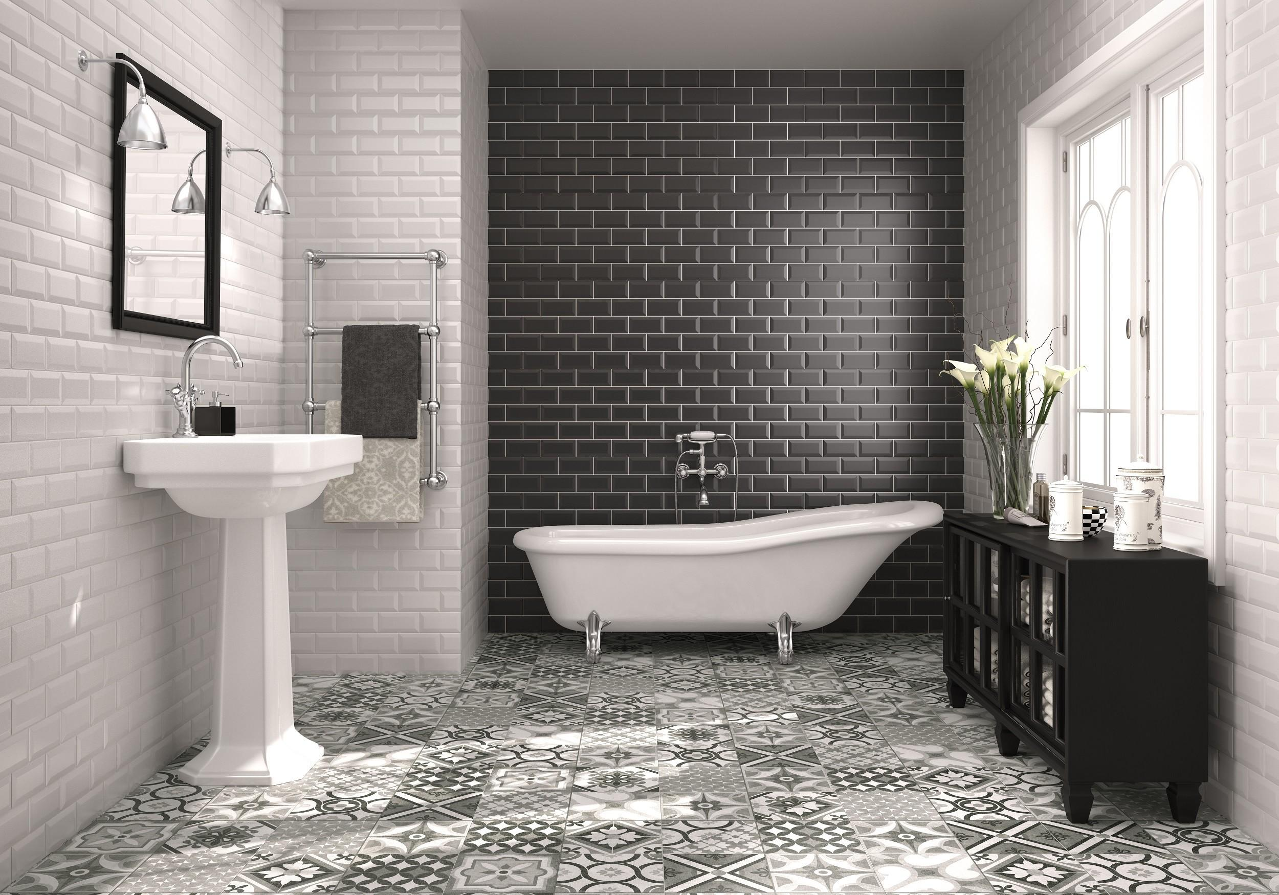Gorgeous Vintage Bathroom Tile Patterns Your Lovely