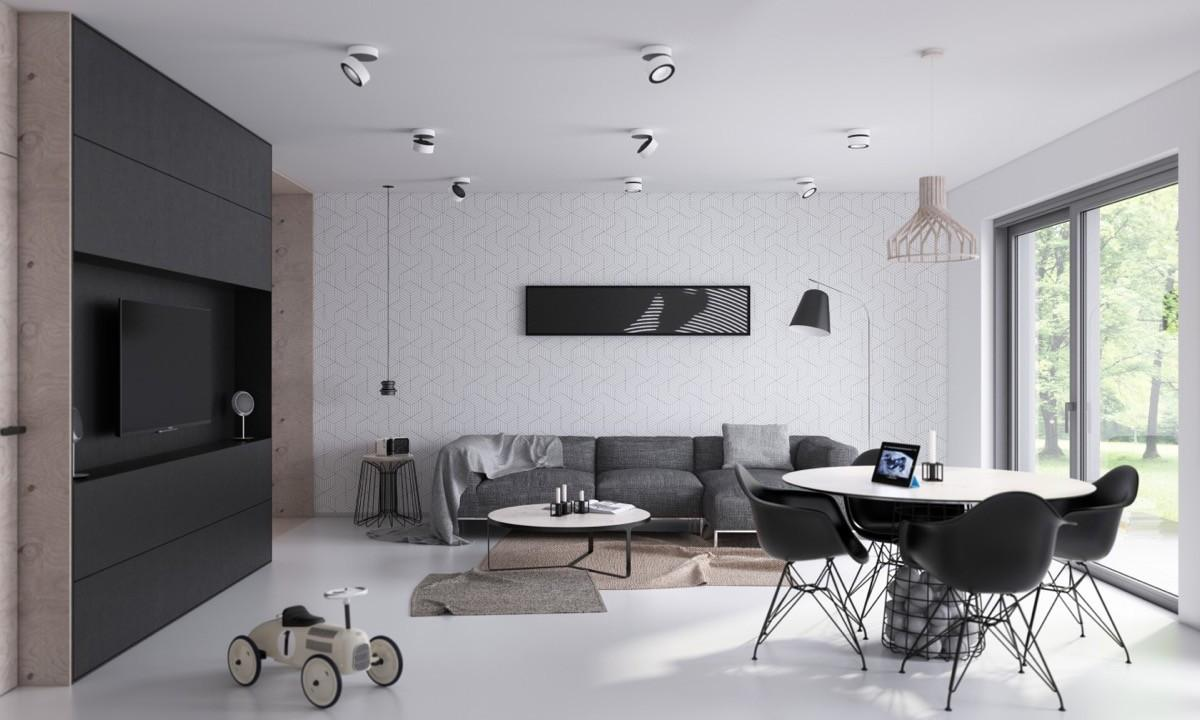 Gorgeously Minimalist Living Rooms Find Substance