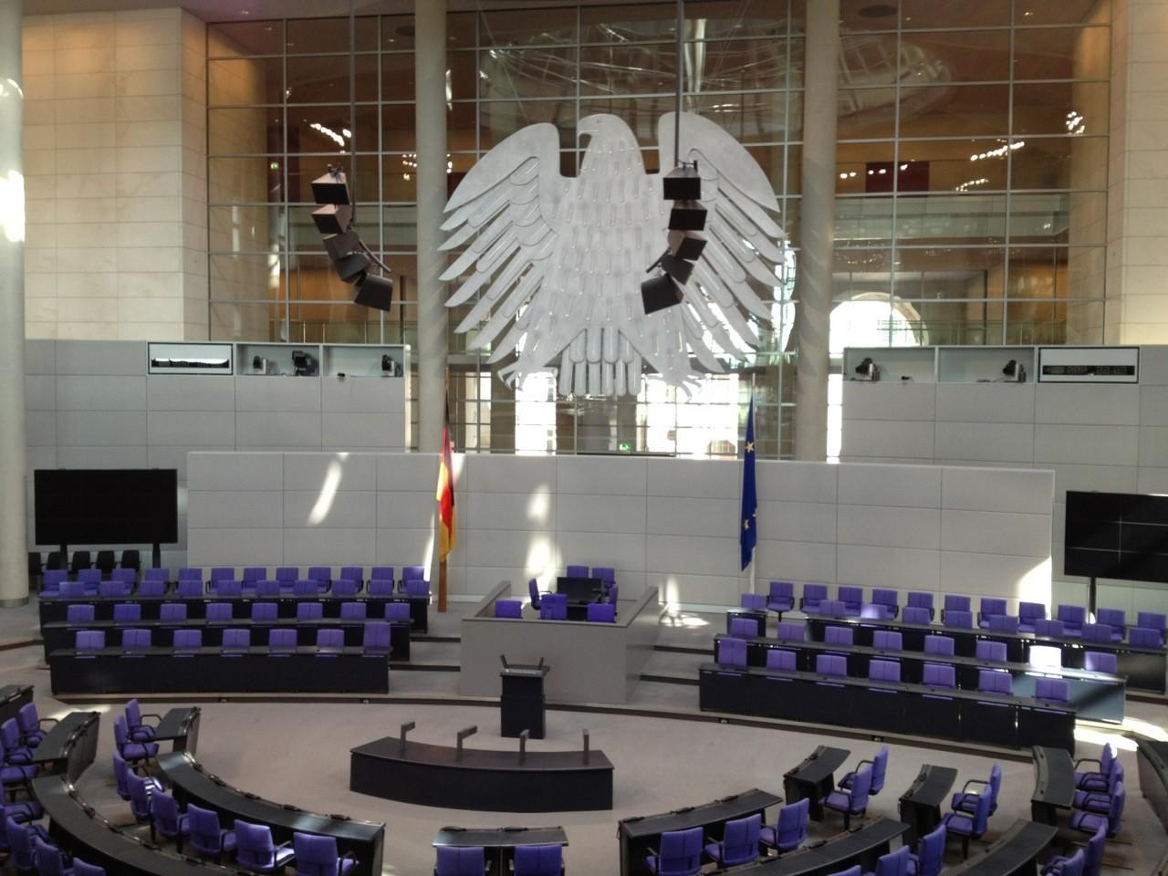 Government District Reichstag Building