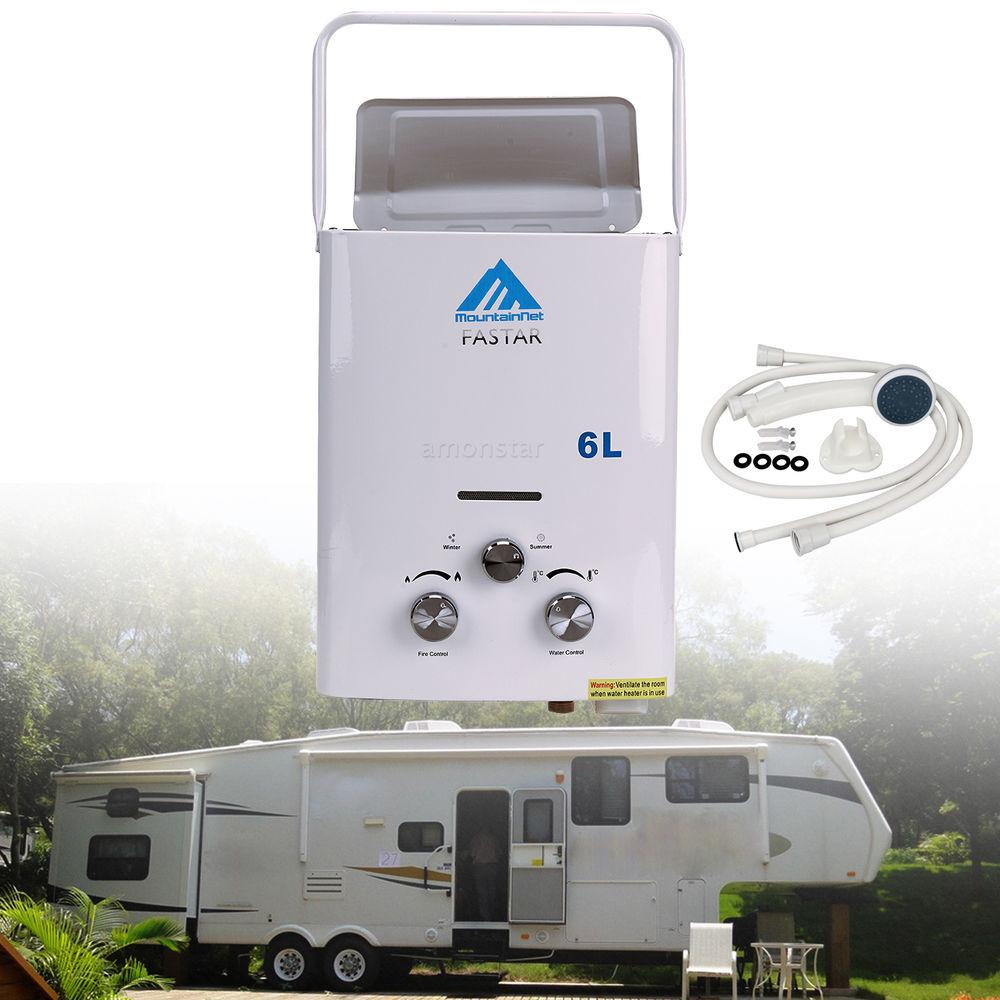 Gpm Portable Tankless Hot Water Heater Campers