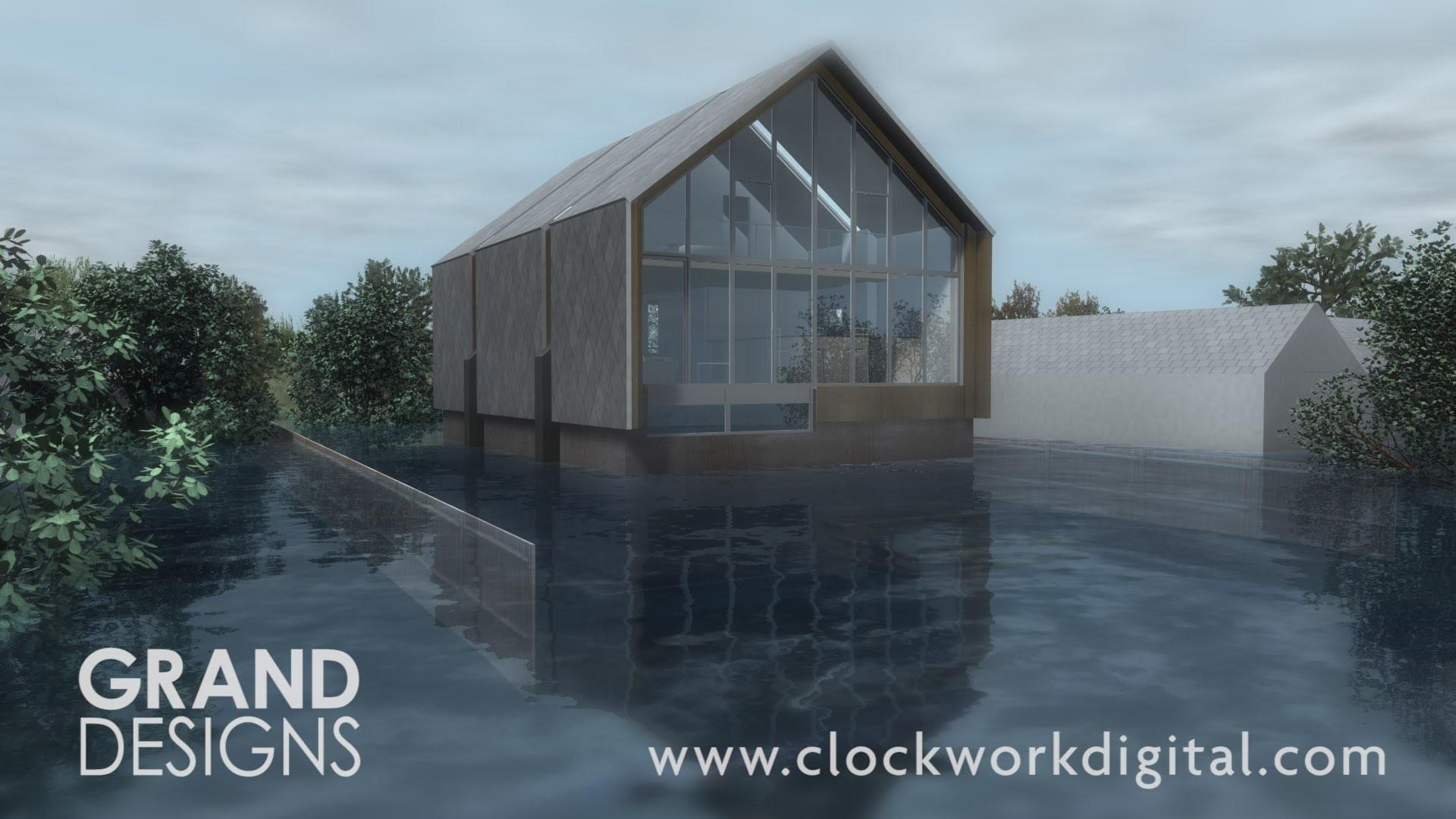 Grand Designs Floating House