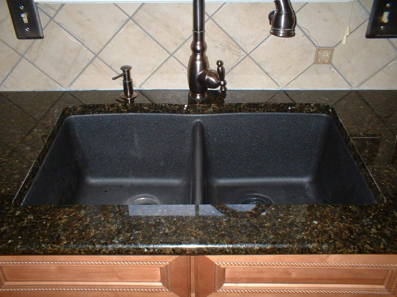 Granite Kitchen Sinks Decorating Ideas
