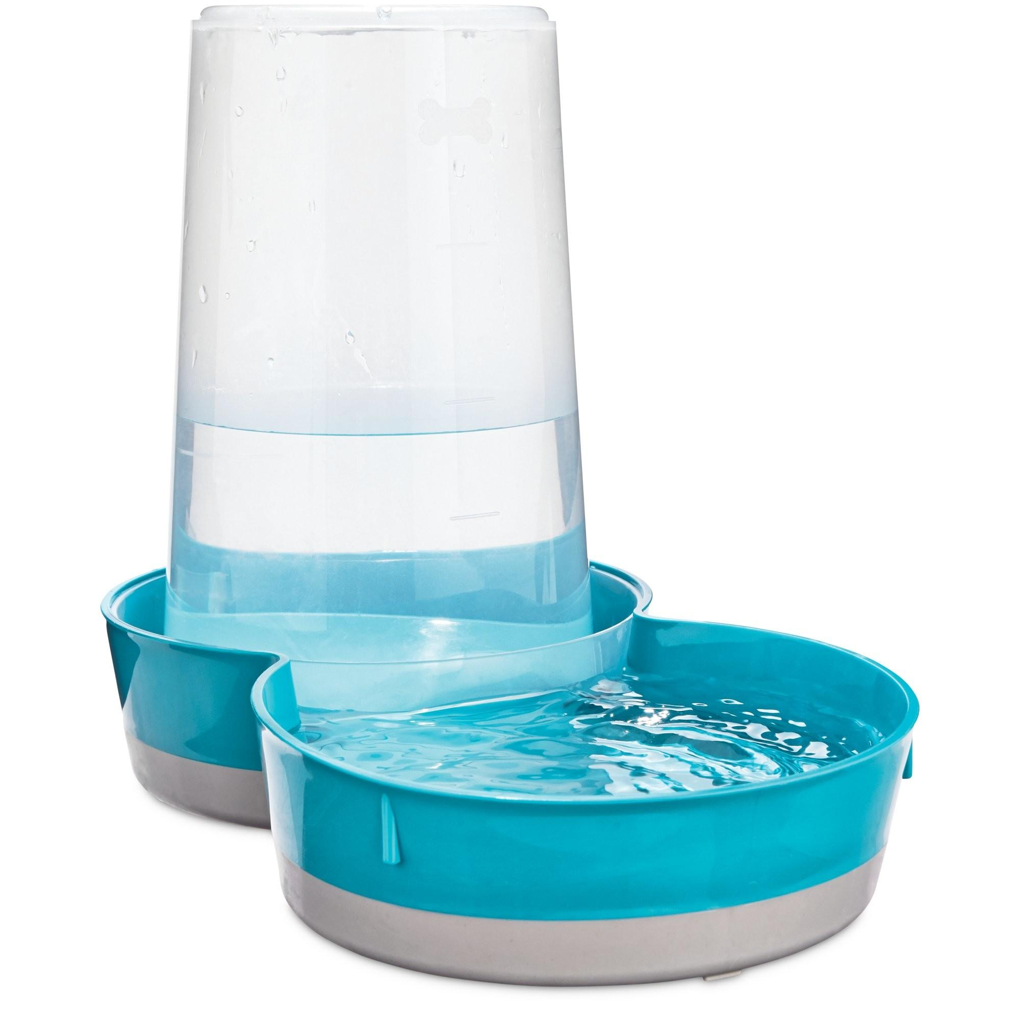Gravity Feeder Waterer Pets Blue Petco