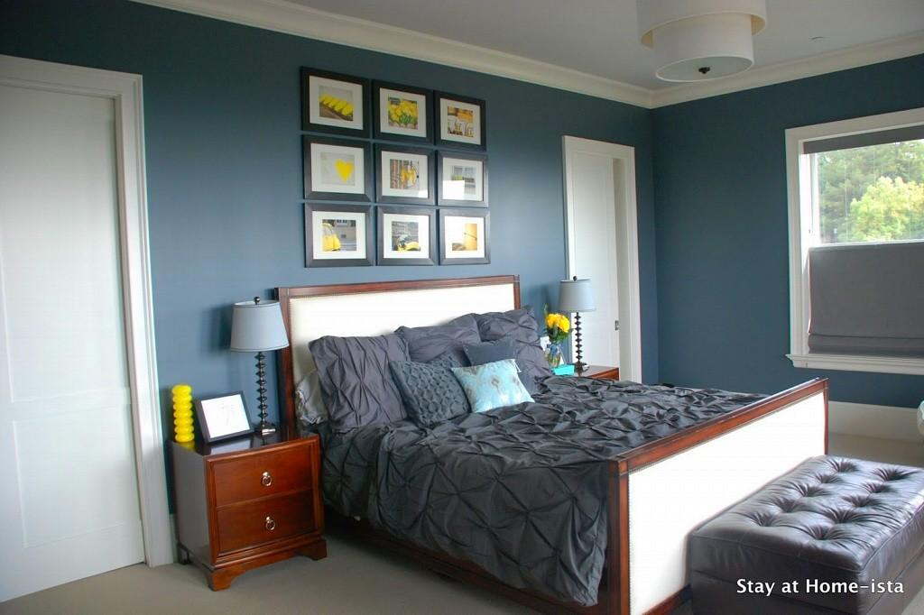 Gray Blue Bedroom Designs Grey