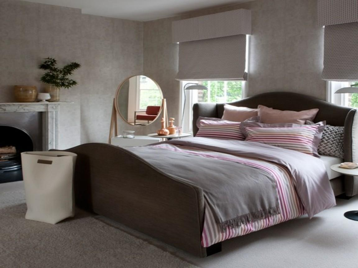 Gray Pink Bedroom Decor Grey