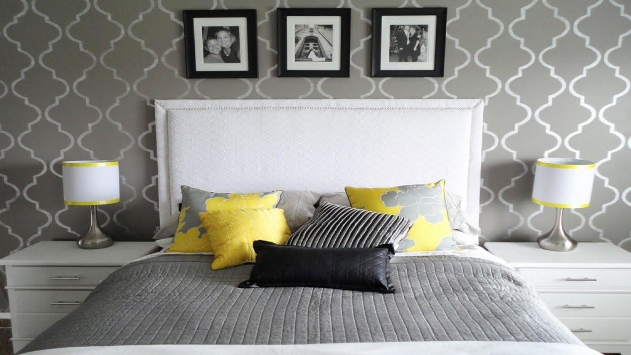 Gray Yellow Bedroom Dgmagnets
