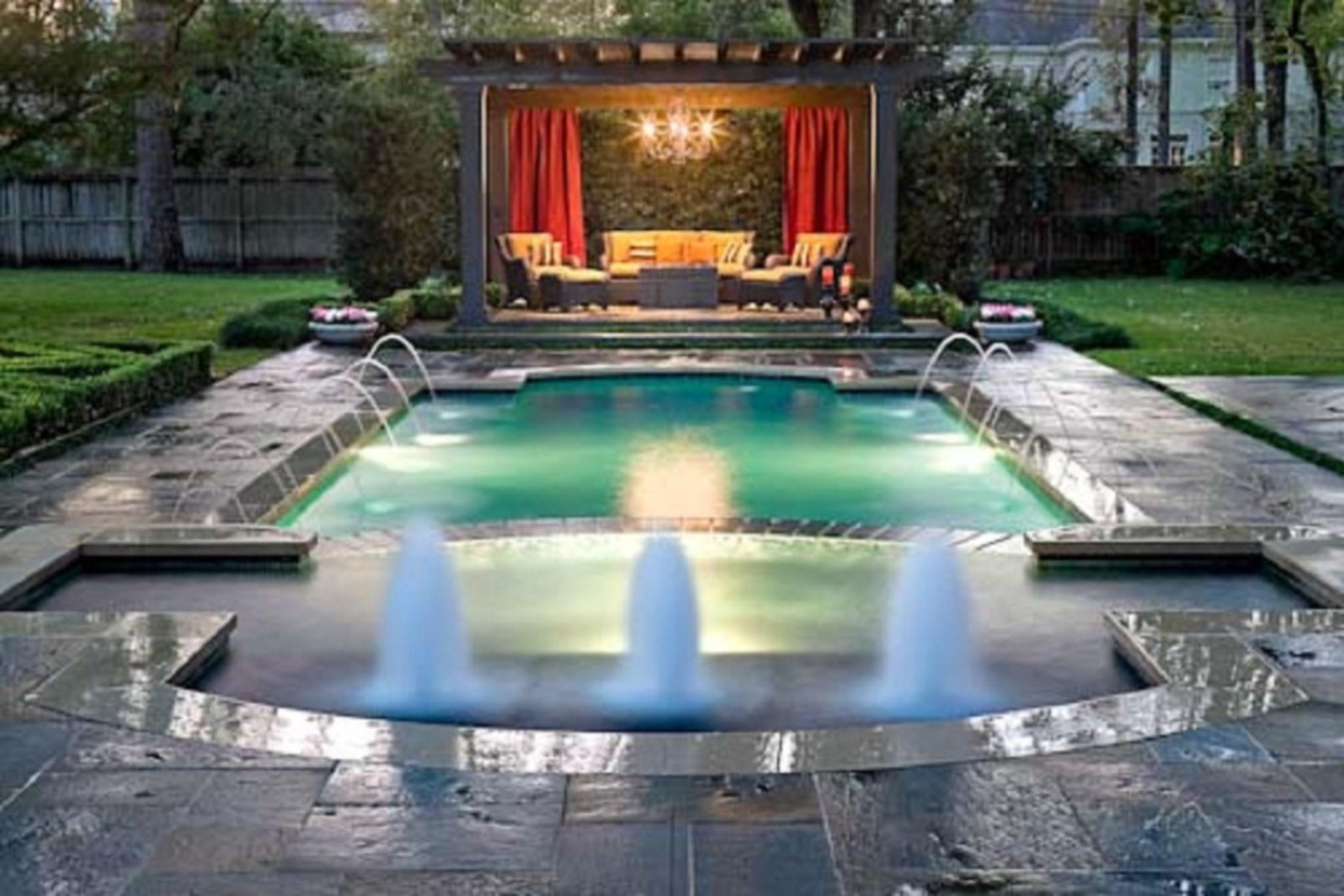 Great Backyard Landscaping Ideas Swimming Pool Design