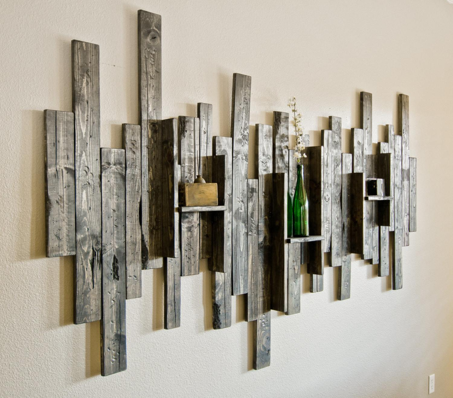 Great Examples Rustic Wall Art Furniture Home