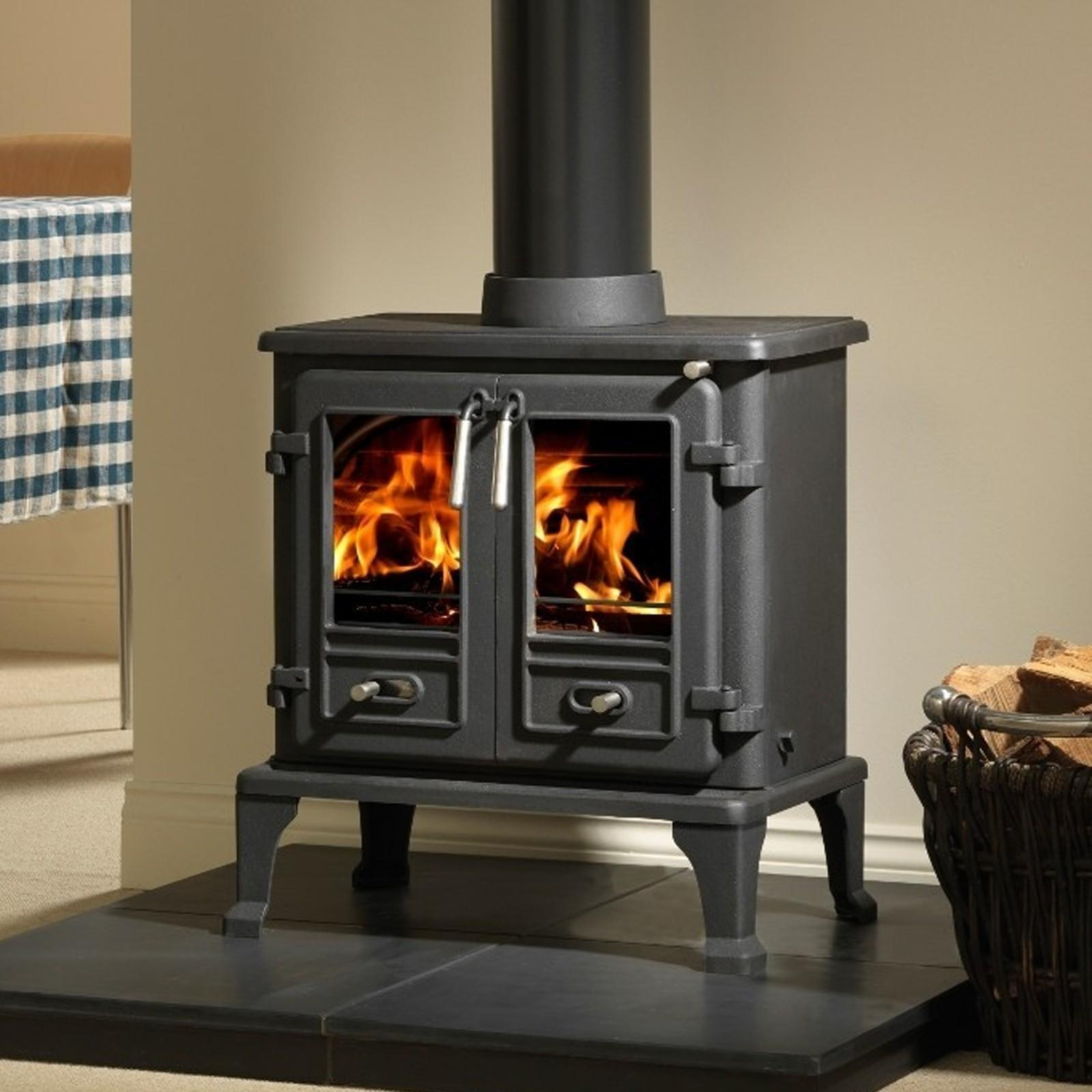 Great Heat Output Firefox 8td Multifuel Stove