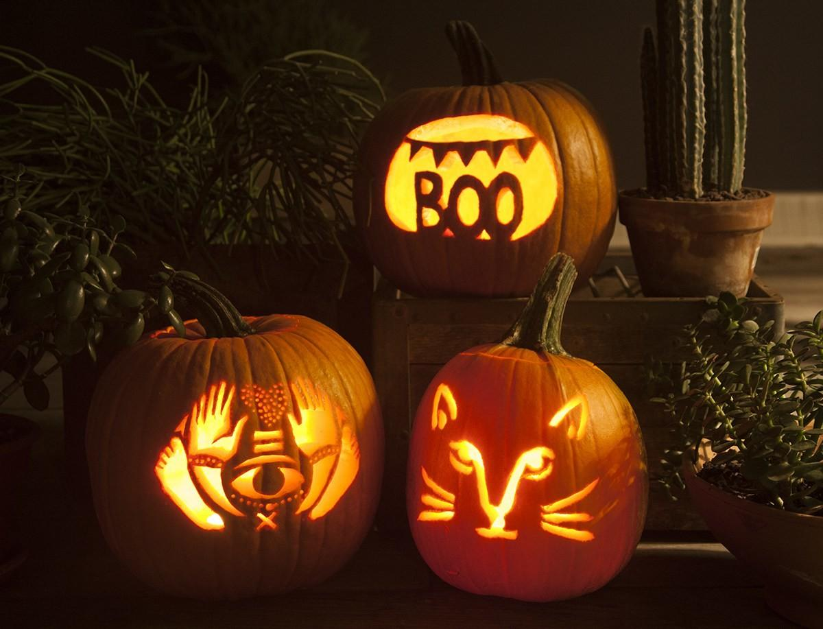 Great Make Pumpkin Patch Round Carving Projects