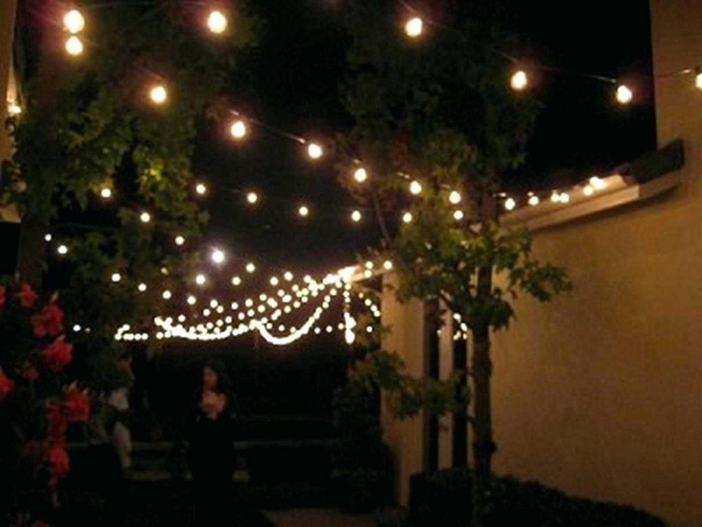 Great Outdoor String Lighting Ideas All Home Design