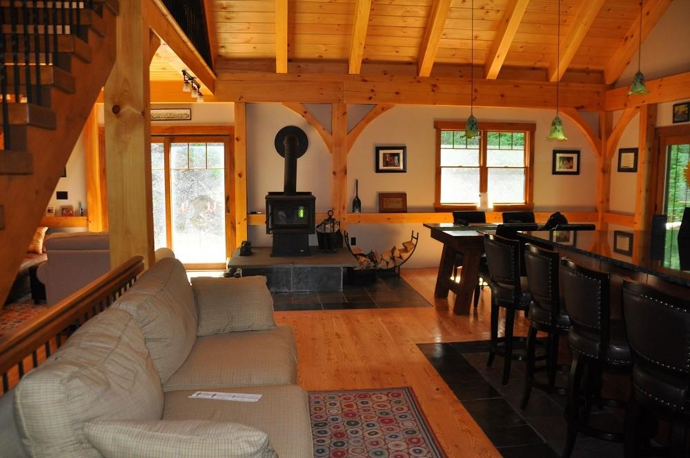 Great Rooms Living Timber Creek Post Beam Company