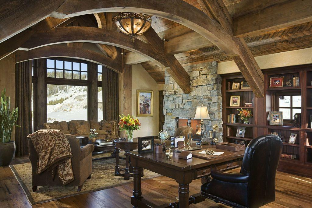 Great Rustic Home Office Zillow Digs