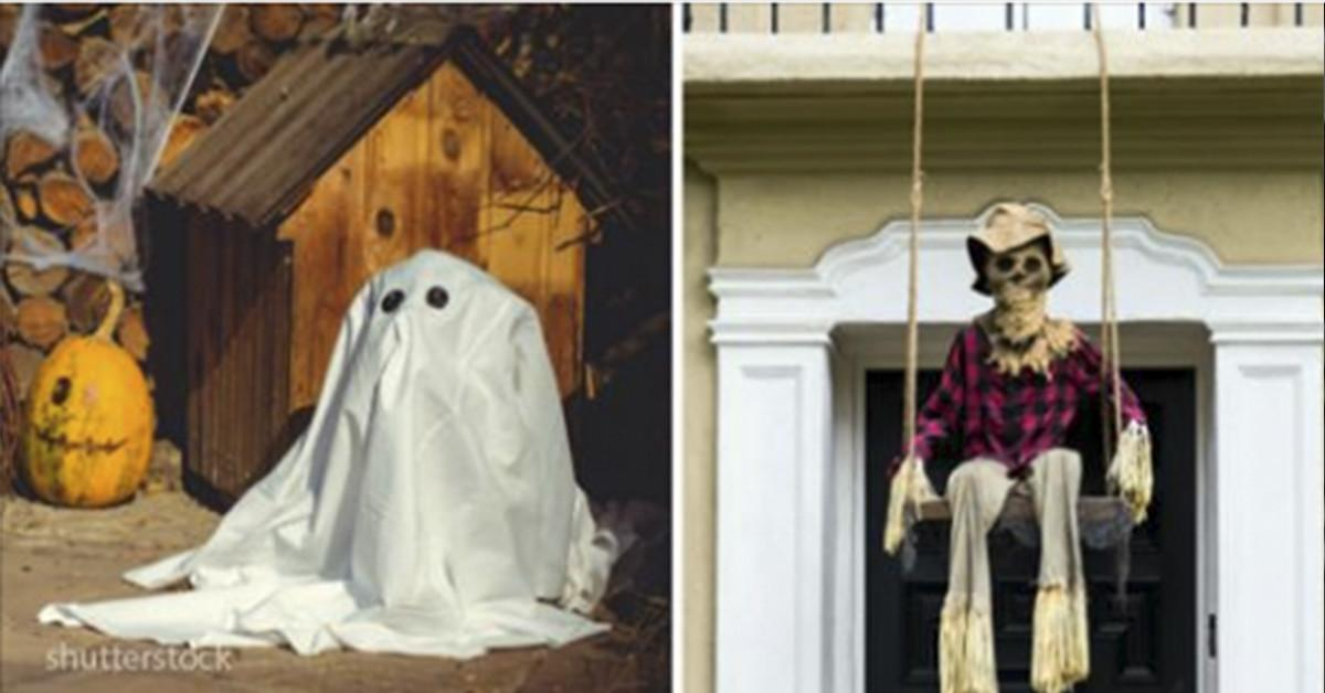Great Scary Outdoor Decoration Ideas Photos Made