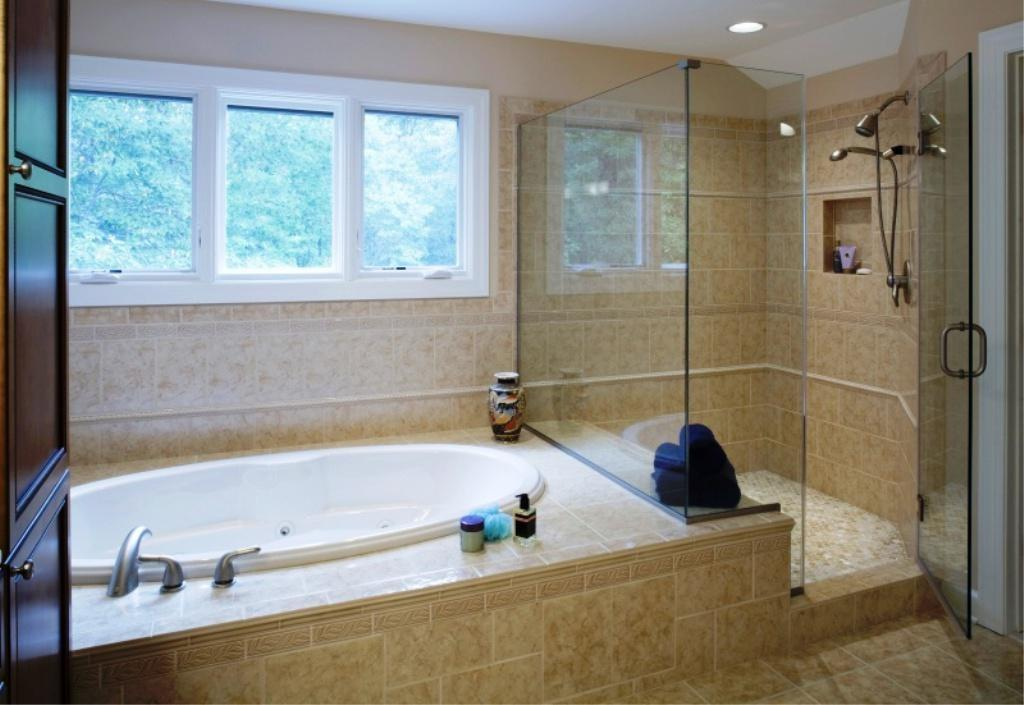 Great Shower Tub Combo Units Bathtub